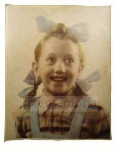 Giancarla De Angelis bambina