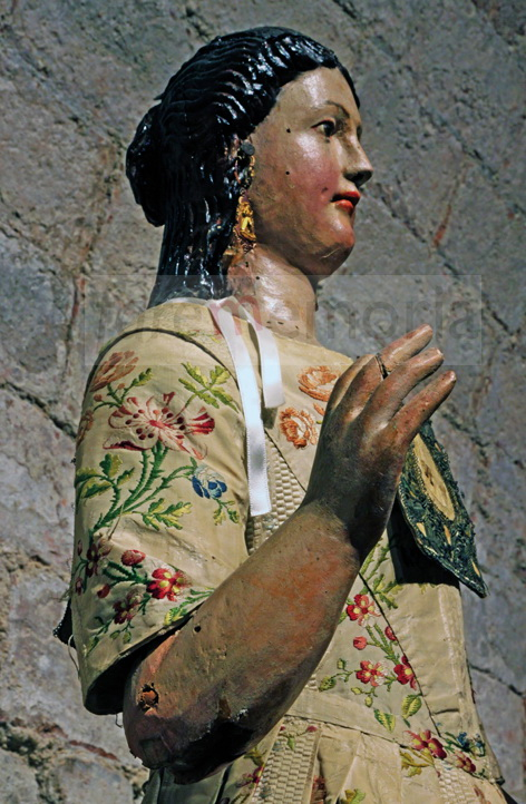 Beata Vergine Ginestreto - manichino