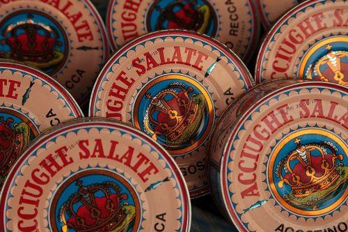 Acciughe salate Wikimedia