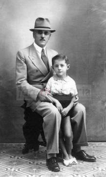 Americo e Amedeo Bertuccioli, 1943