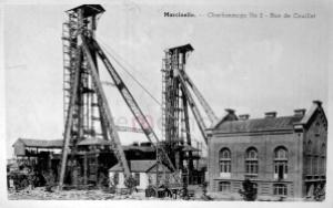 Marcinelle, cartolina