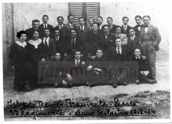 Pesaro, Istituto Bramante, 1913-1914