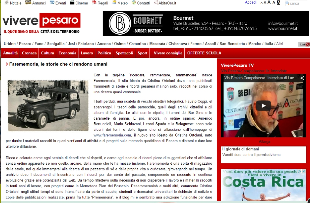 Vivere Pesaro - 21 febbraio 2015
