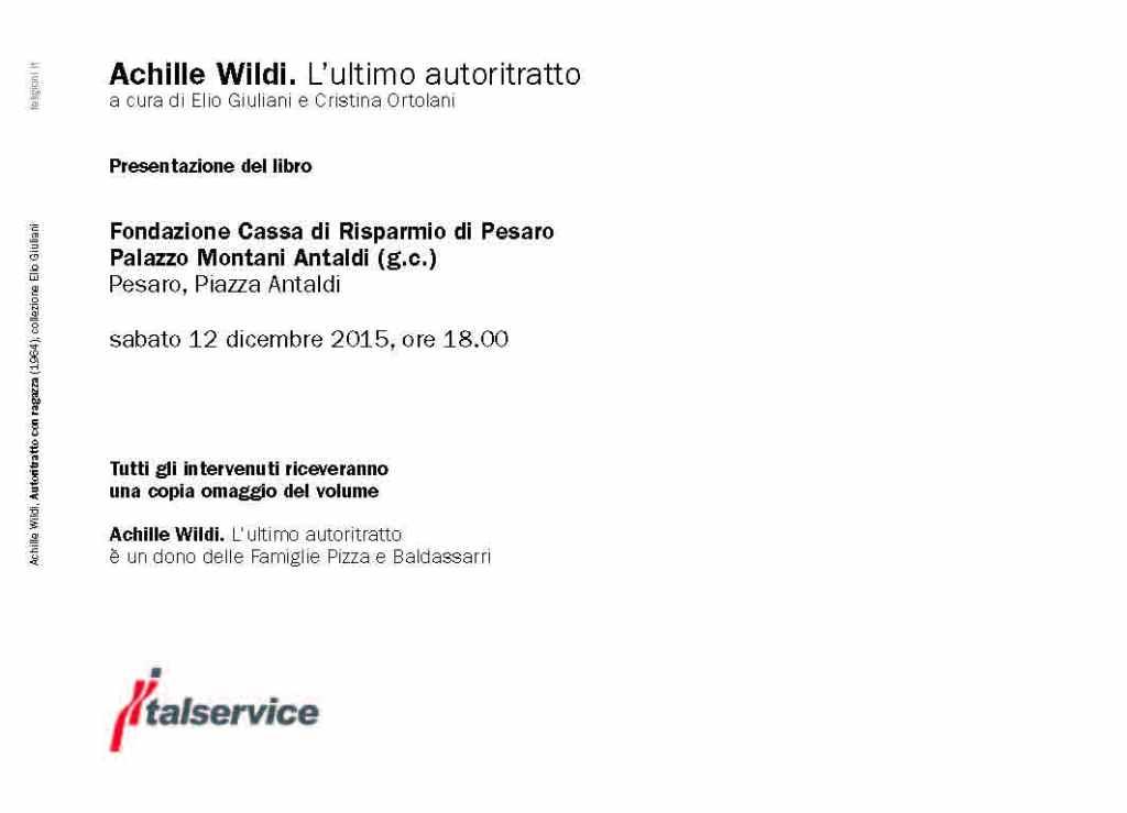 Achille Wildi - invito