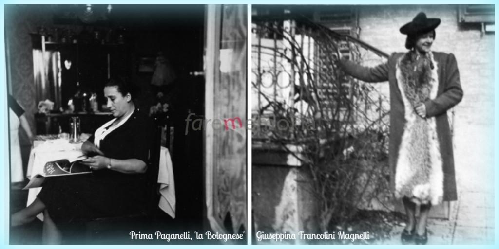 Prima Paganelli e Giuseppina Magnelli per tesi lFlora Derounian